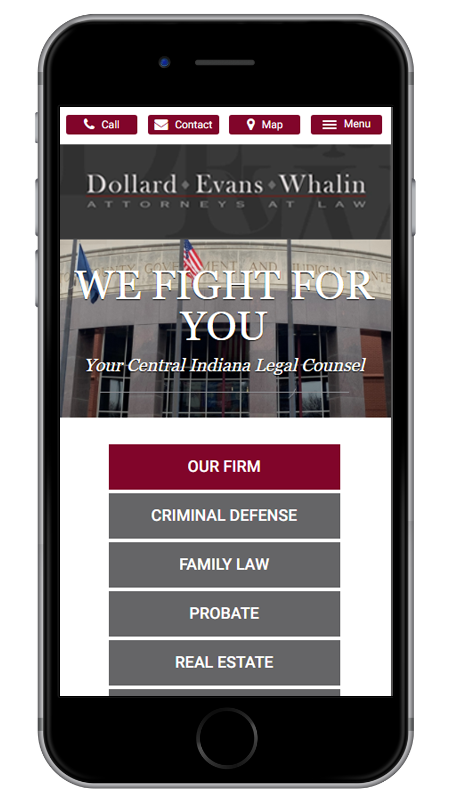 Central Indiana Criminal Defense, Divorce, Estate Planning & Personal Injury Lawyers - Dollard Evans Whalin