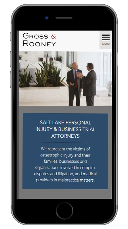 Gross & Rooney - Salt Lake Personal Injury & Business Trial Attorneys