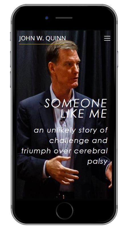 John W. Quinn - Triumph Over Cerebral Palsy