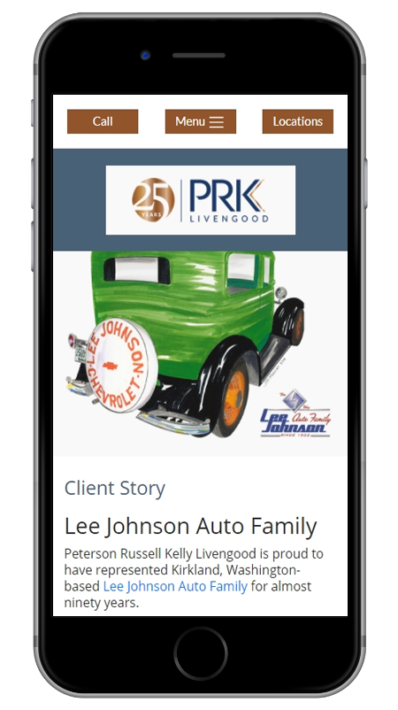 PRK Livengood - Bellevue Business, Real Estate and Commercial Litigation Lawyers