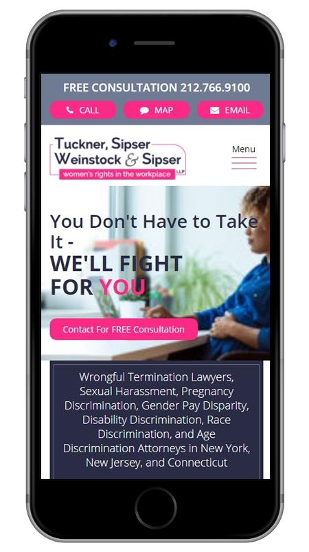Tuckner, Sipser, Weinstock & Sipser - New York Employment Discrimination Lawyers